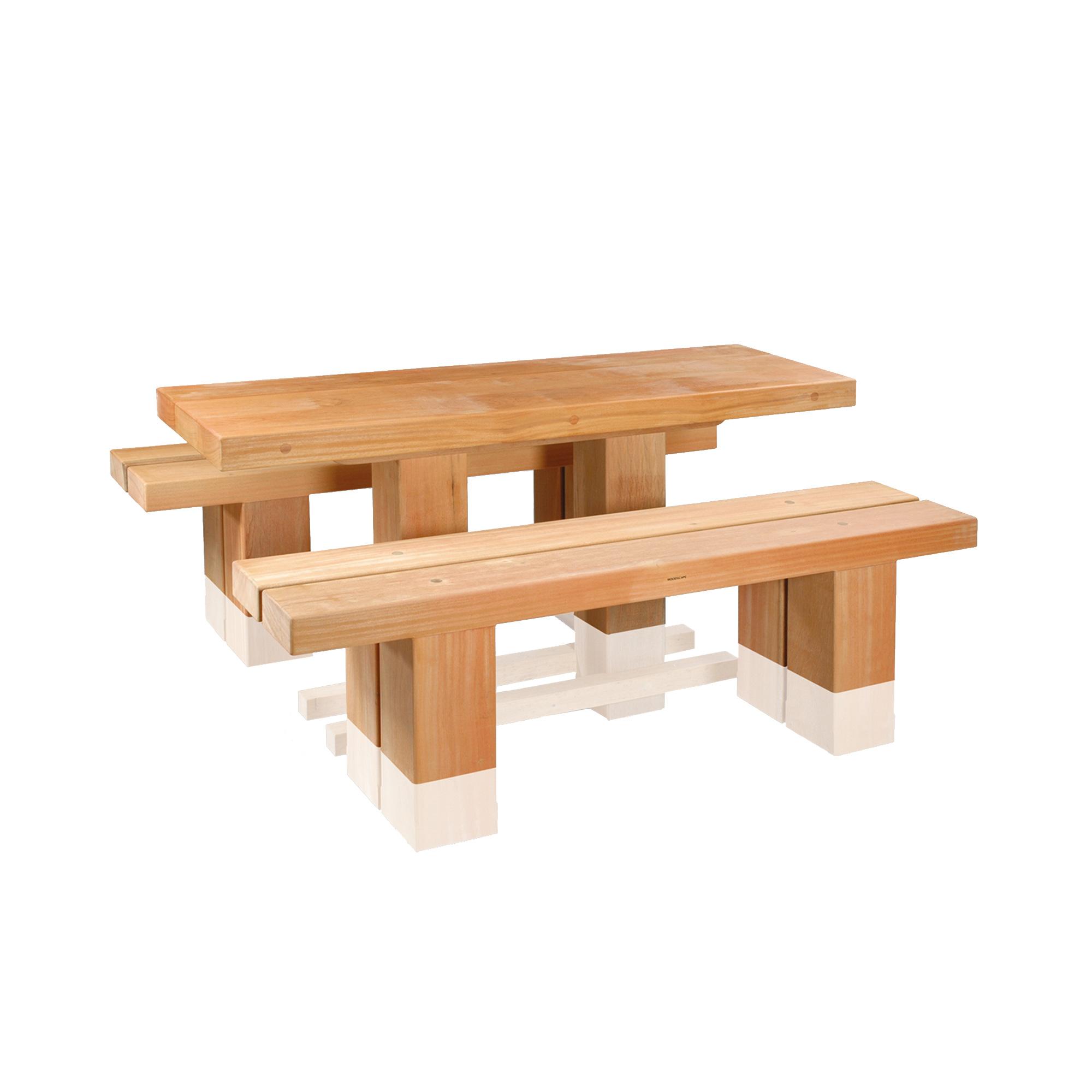 Standard picnic set woodscape home woodscape street furniture picnic sets standard picnic set watchthetrailerfo
