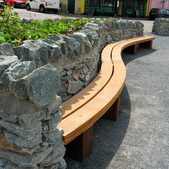Type 4 Wall Seat Woodscape