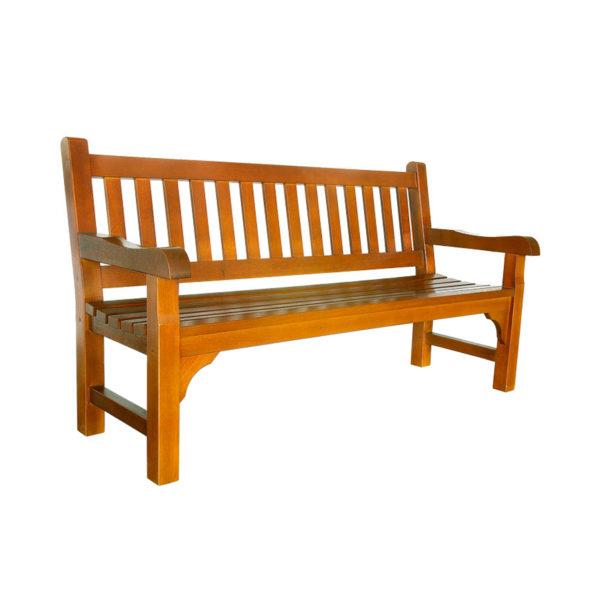 Goteborg backrest seat hardwood arm rest