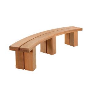 Hardwood Street Furniture Seating Bench Garden