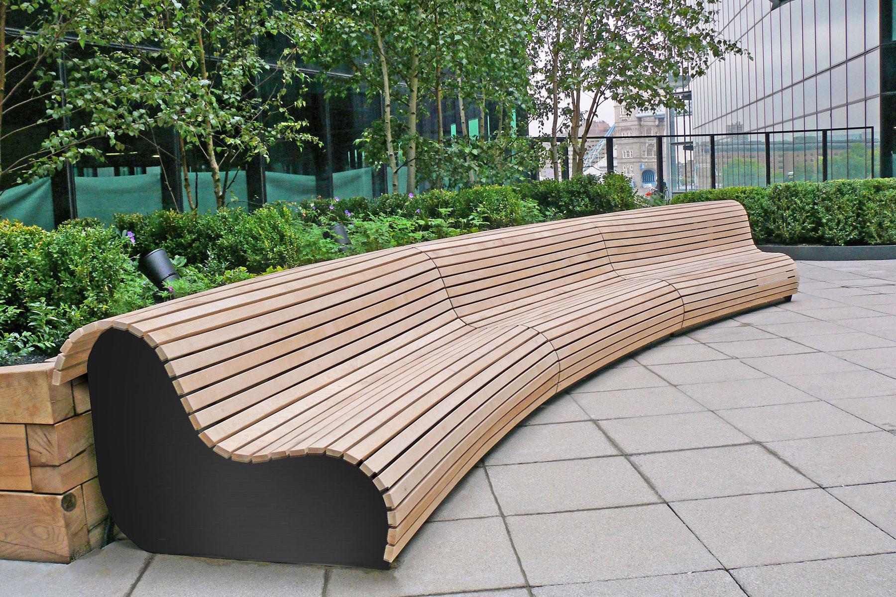 Street Furniture Woodscape Uk Hardwood Manufacturer